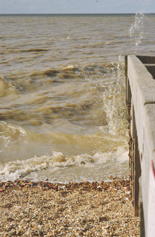 Whitstable beach groyne