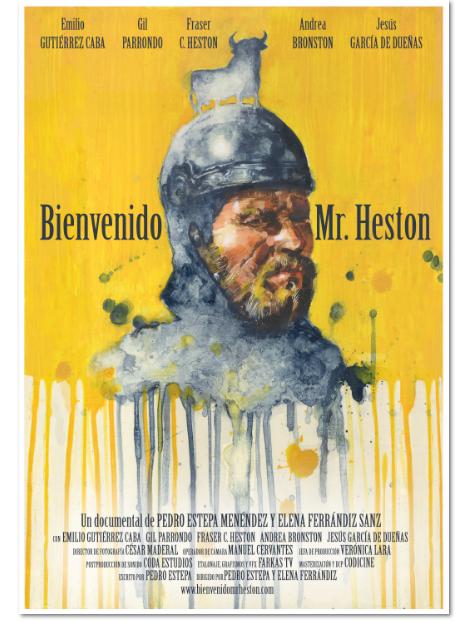 Bienvenido Mr. Heston (Belmonte Arte)