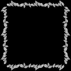 border frames leaves digital frame designs scrapbooking stationary scrapbook supplies graphics