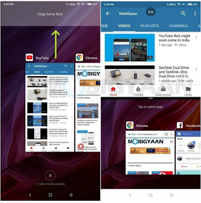 Cara Membuka Aplikasi Split Screen [ Multi Windows ] di MIUI 9, Begini Caranya