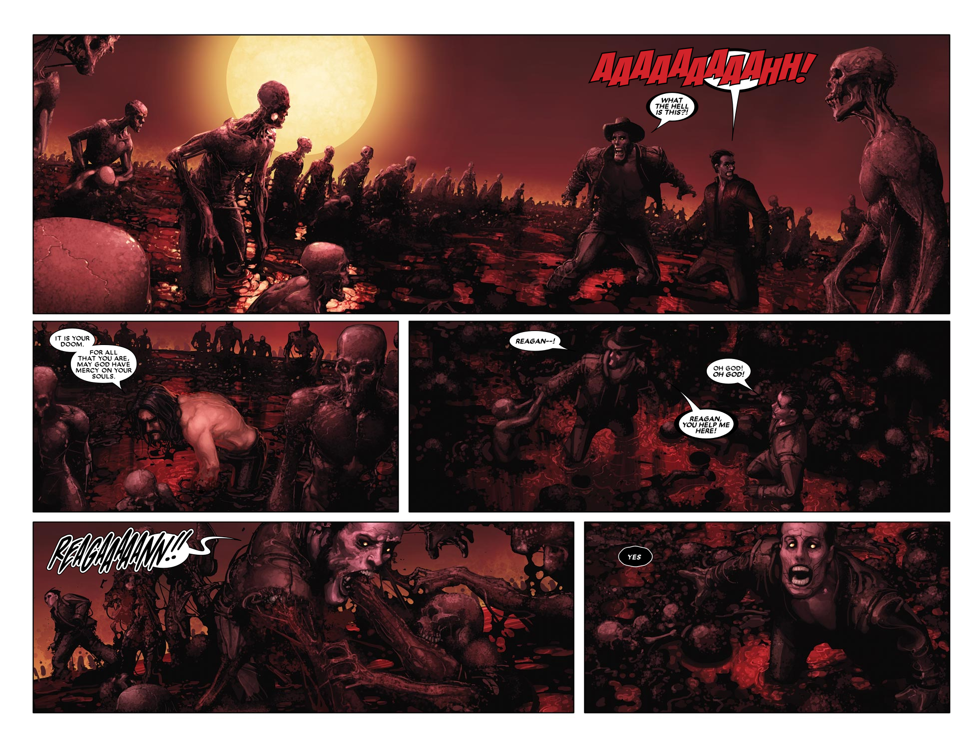 Read online Ghost Rider: Trail of Tears comic -  Issue #6 - 12