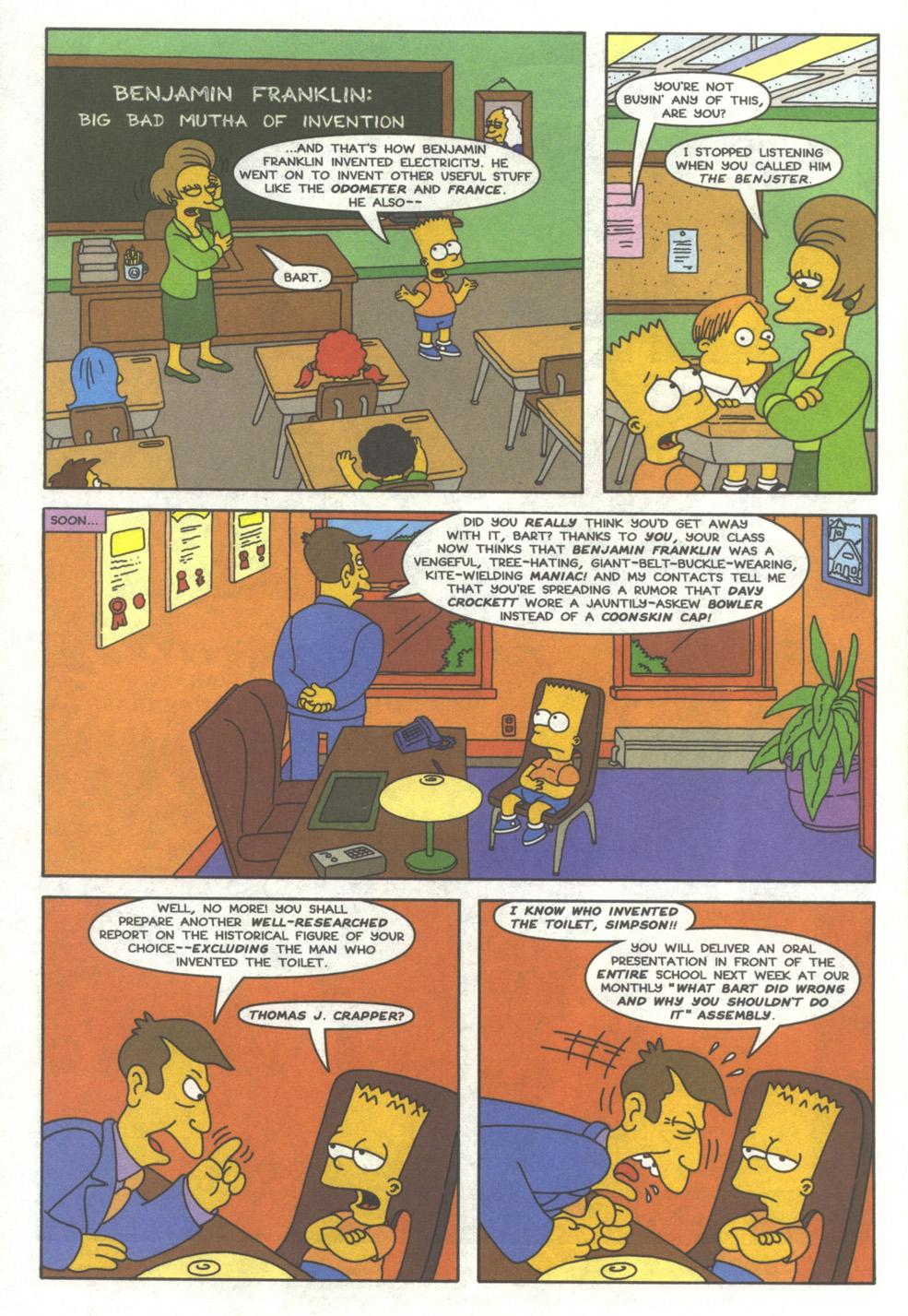 Read online Simpsons Comics comic -  Issue #39 - 3