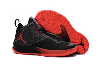 Jordan Superfly 5 hitam merah Sepatu Basket Premium, harga jordan super fly 5 , jual jordan superfly 5 , jordan superfly 5 replika , premium , import, murah, toko sepatu basket
