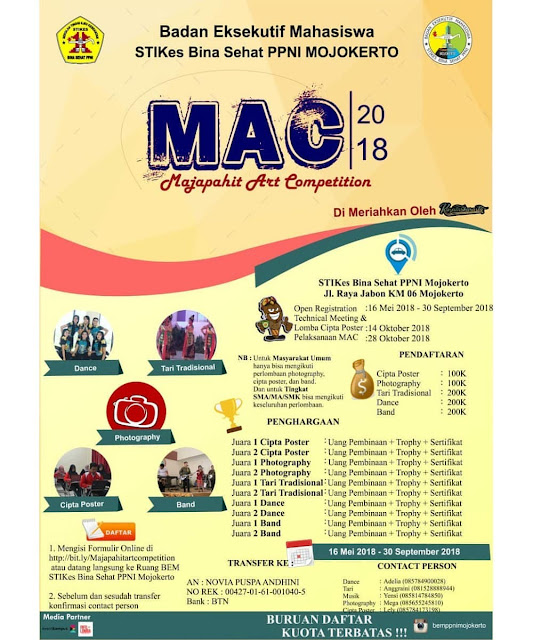 Contest Majapahit Art Competition 2018
