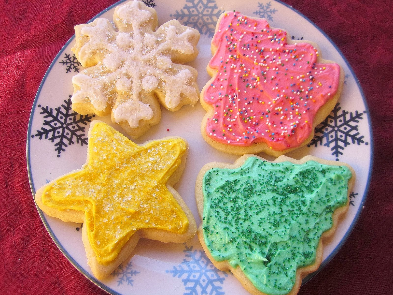 No Fail Soft Cut-Out Sugar Cookies - Layers of Happiness |Soft Cut Out Sugar Cookie Recipe