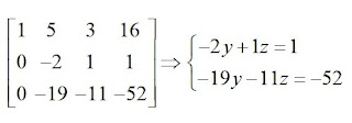 obtendo as equações
