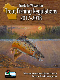 Guide to Wisconsin Trout Fishing Regulations 2017-2018 image of cover