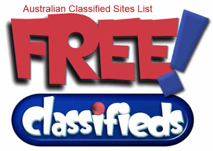 High PR Free Classified Ads Posting Sites List Australian - Free