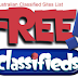 High PR Free Classified Ads Posting Sites List Australian