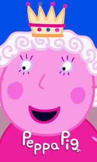 la reina de la serie de peppa pig