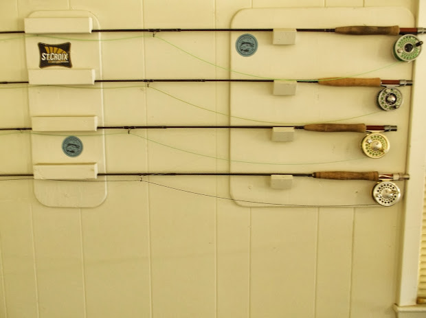 Fishing Life Building Affordable Fly Rod Rack