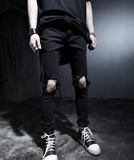 Celana sobek model yahud