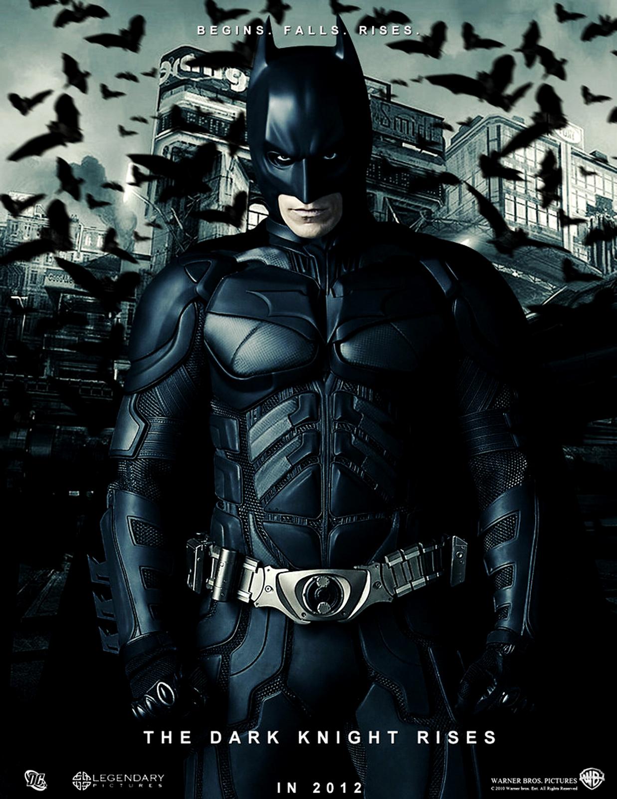 Bat Man Dark Knight Rises