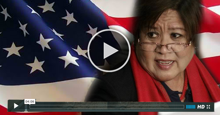 WATCH:Leila De Lima Give False Statement About President Duterte to America!