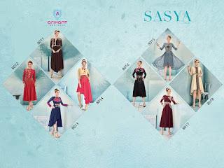 SASYA VOL 2 ARIHANT Catalog Kurtis wholesaler dealer manufacturer surat gujarat