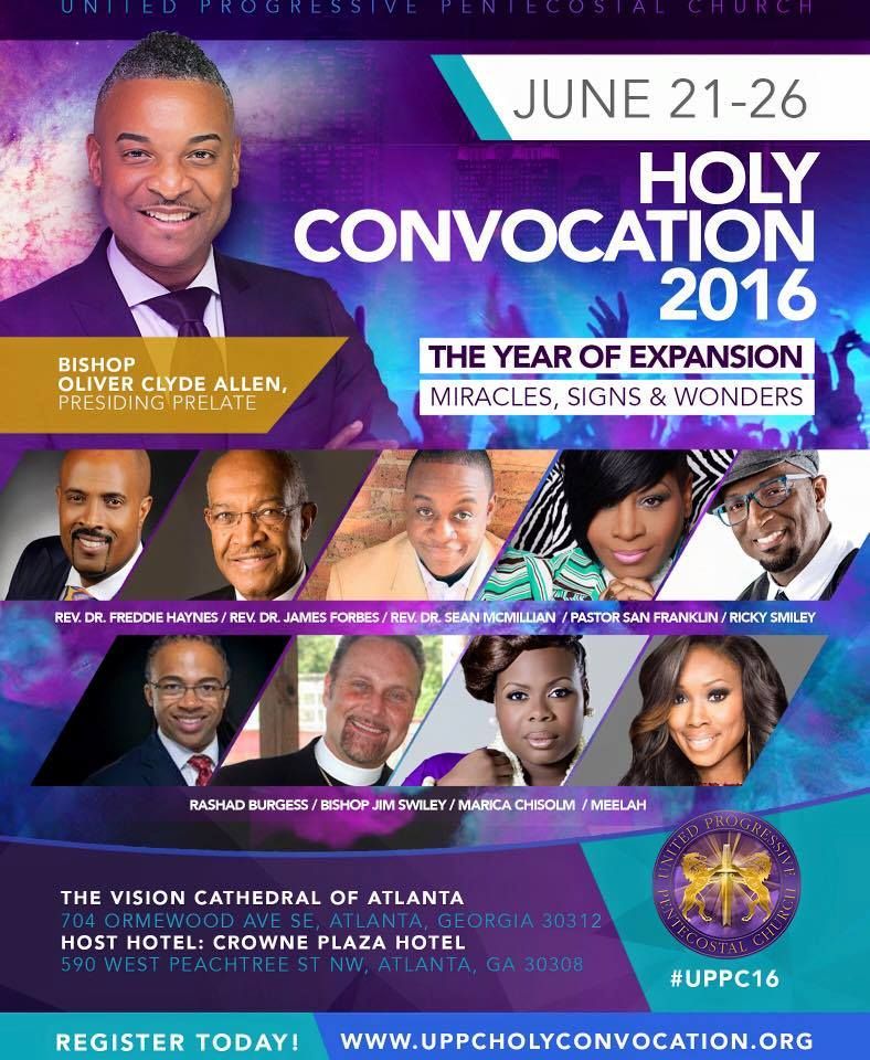 HOLY CONVOCATION - 2016