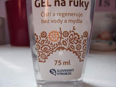 calendula antibakteriálny gél na ruky s ľaliou