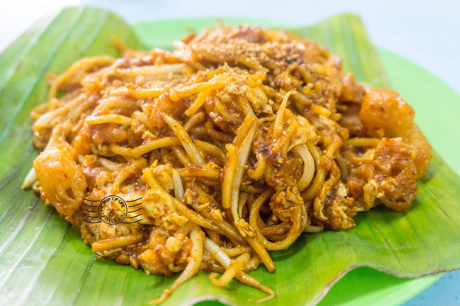 Mee Goreng @ H & P Eatery 太子茶室, Sungai Ara, Bayan Lepas, Penang