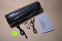 Plastiktüte: R4mpage RP-1100 Bluetooth Lautsprecher 10Watt mit LED Farbwechselmodus, und Mikrofon für Freisprechfunktion