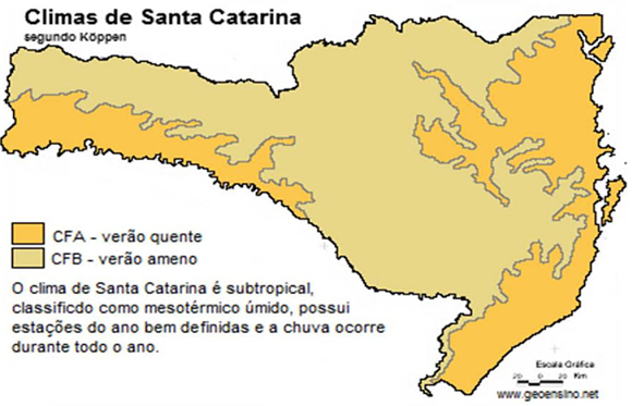 Mapa clima