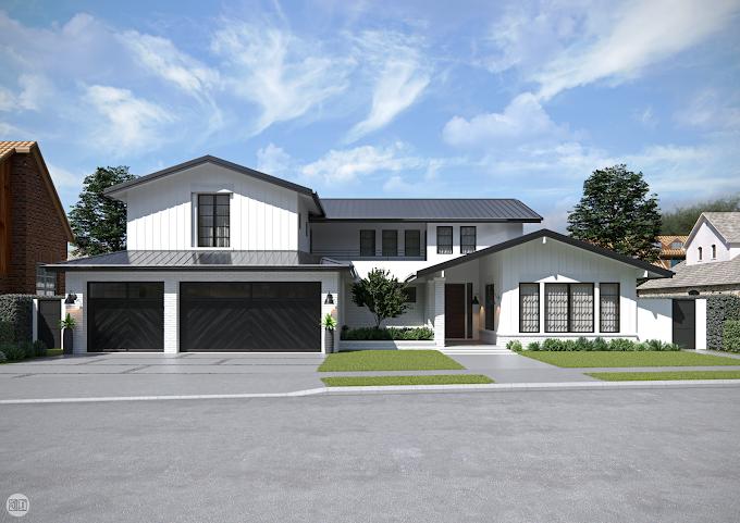 Residential Exterior, CA, USA