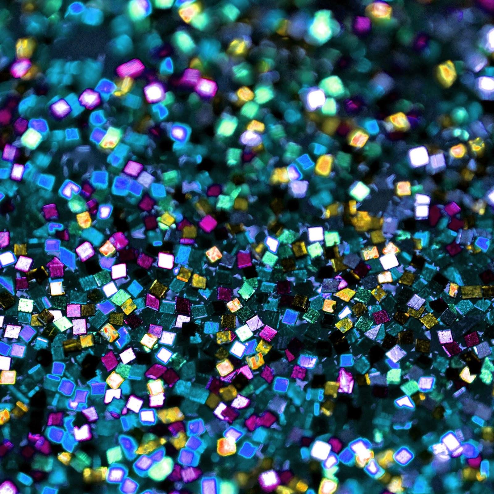 Falling Glitter Confetti Wallpapers Doodlecraft Multi Colored Square Glitter Background