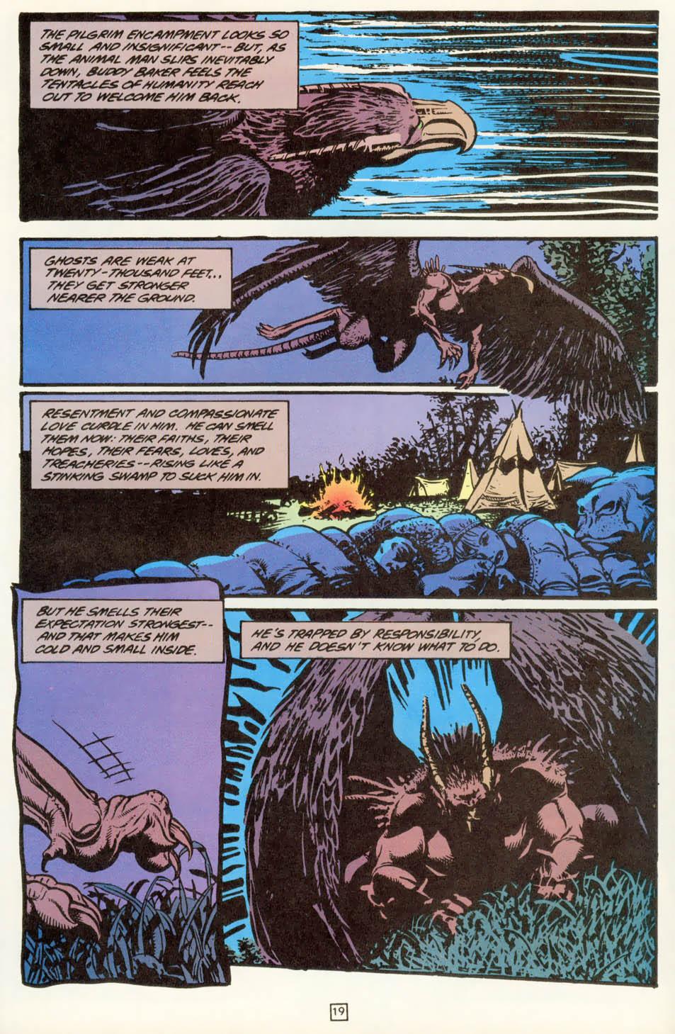 Read online Animal Man (1988) comic -  Issue #78 - 20