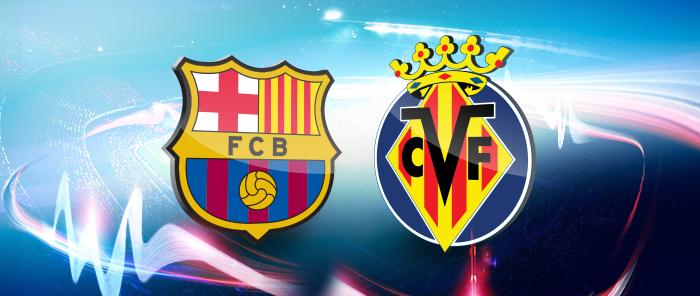 مباراة برشلونة وفياريال الآن في الدور ال17 من الدوري الأسباني توقيت مباراة برشلونة اليوم الأحد 8/1/2017