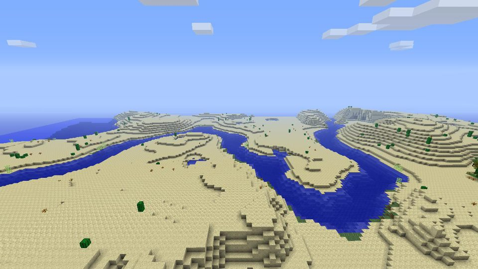 sand map in minecraft