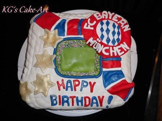 Kg S Cake Art Fc Bayern Munchen Torte