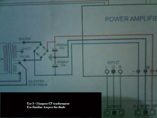 Power Supply For CT Amplifier