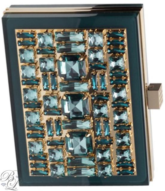 Brilliant Luxury ♦ Elie Saab Bejeweled Clutch