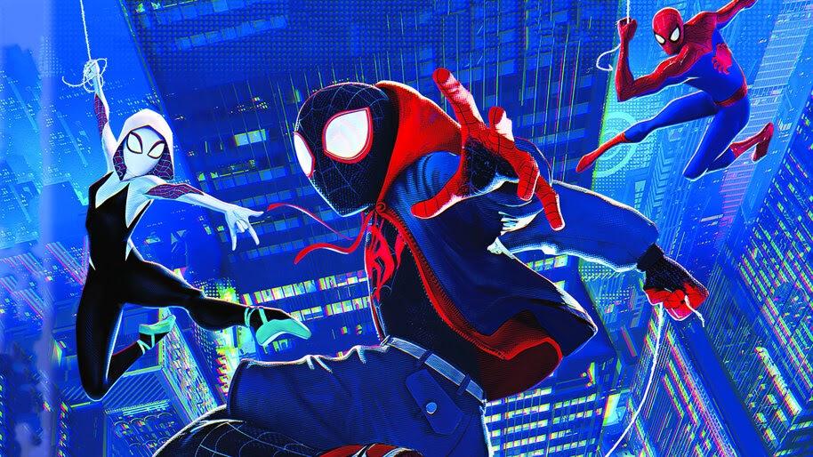 Miles Morales, Spider-Gwen, Spider-Man Into the Spider-Verse, 4K, #3.2293