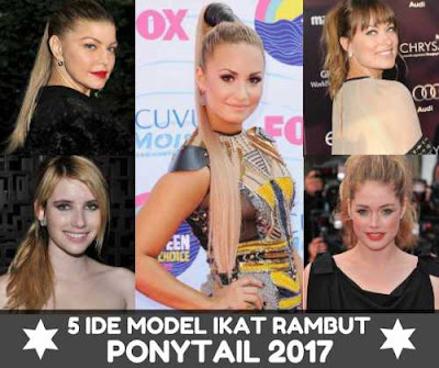 5 MODEL IKAT RAMBUT PONYTAIL_988002255888