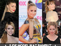 5 Ide Model Ikat Rambut Ponytail 2017
