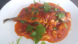 Resepi, Ikan Cencaru Masak Tiga Rasa, Menu masakan, masakan Melayu,
