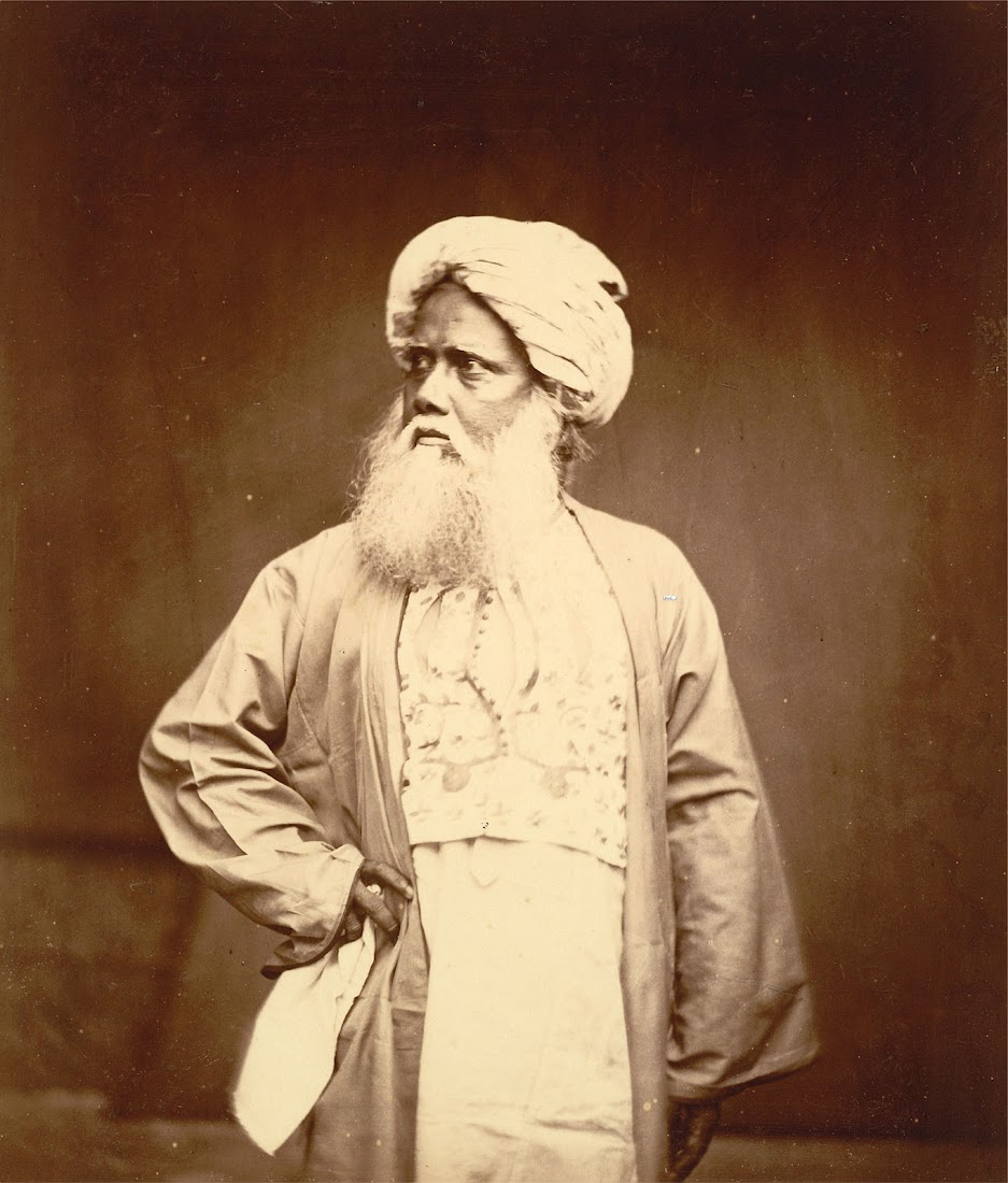 Portrait of an Old Man - Eastern Bengal 1860's