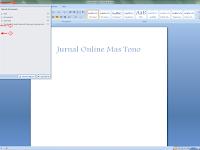 Cara Menyimpan Dokumen Pada Microsoft Word 2007