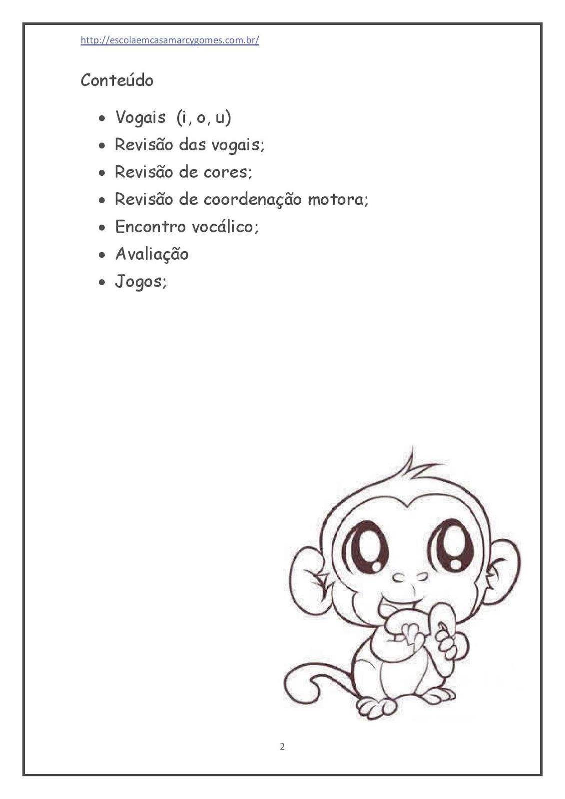 Apostila Educação Infantil Ii Português Parte 2 142 Páginas