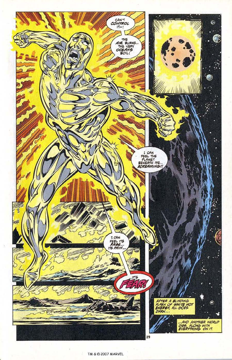 Silver Surfer (1987) Issue #104 #112 - English 31