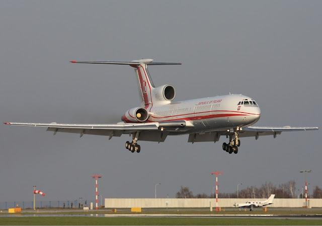 Tupolev Tu-154M | Polish Air Force Lebeda
