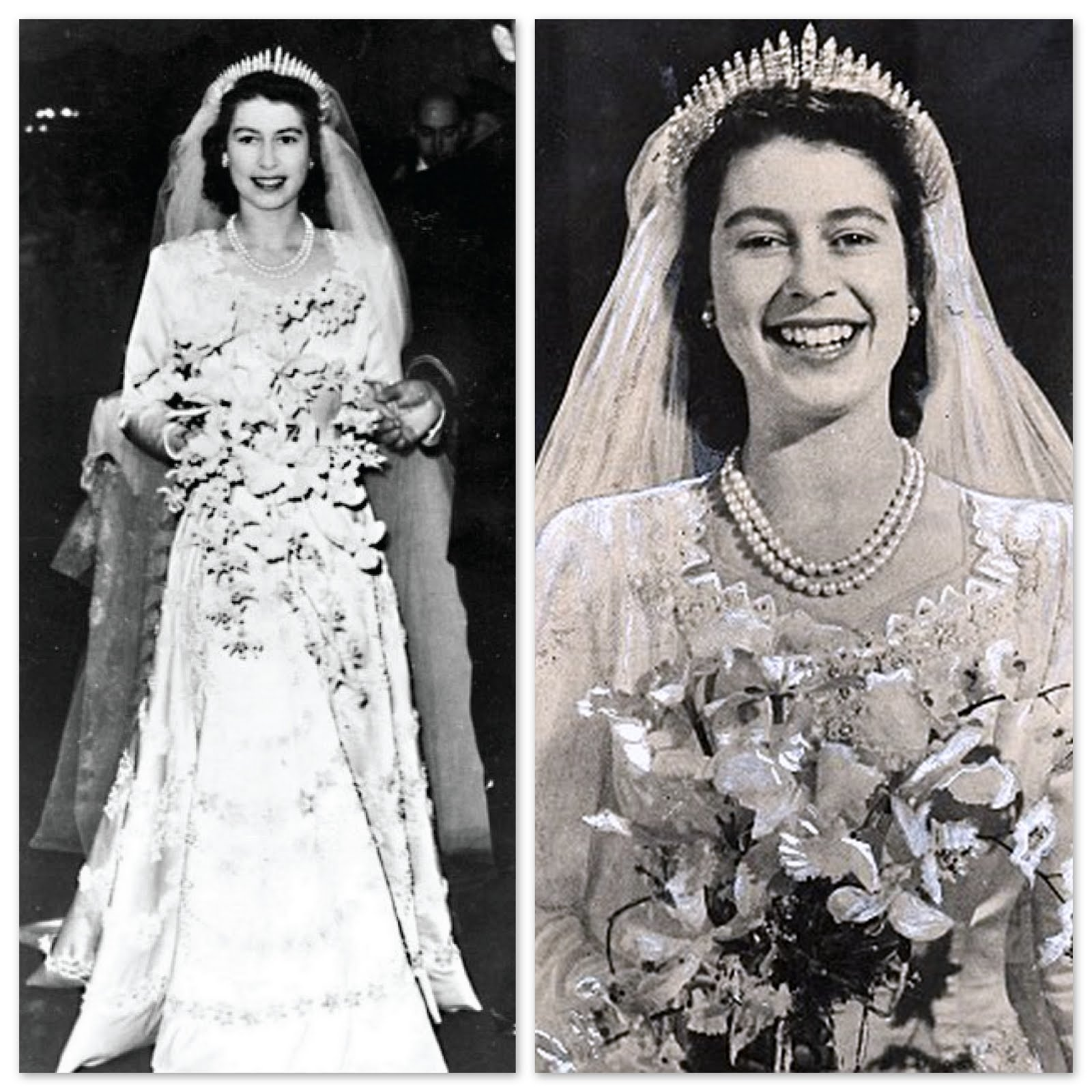 Queen Elizabeth Wedding Gown: Lily Lemontree: ROYAL STYLE REVIEW The Royal Wedding Dress