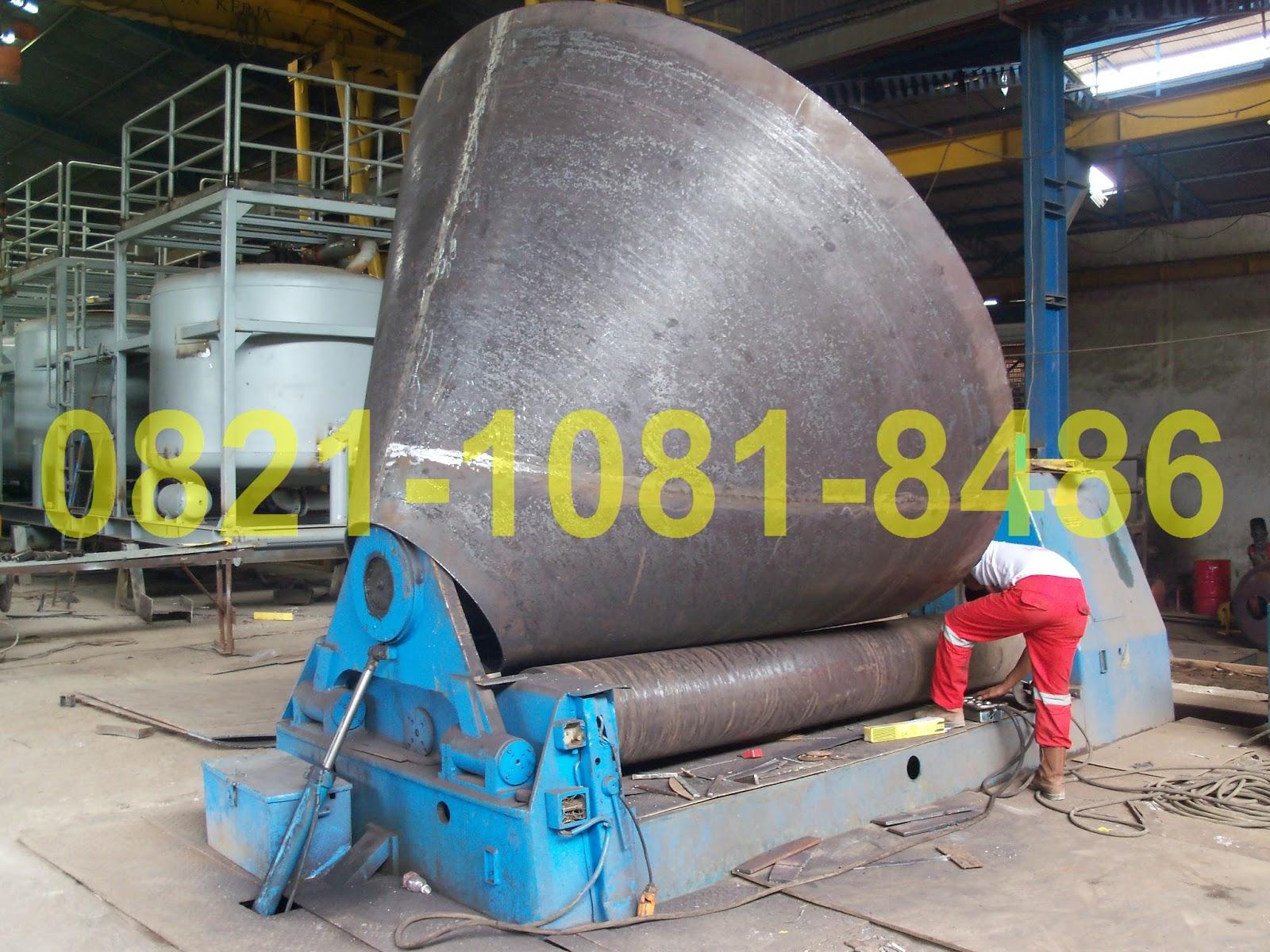 Jasa Fabrikasi Dust Collector Trolley Alat Berat Elektrik Krisbow 1t Kw0501625 Proses Roll Cone