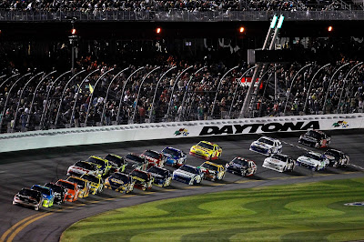 Drafting at Daytona