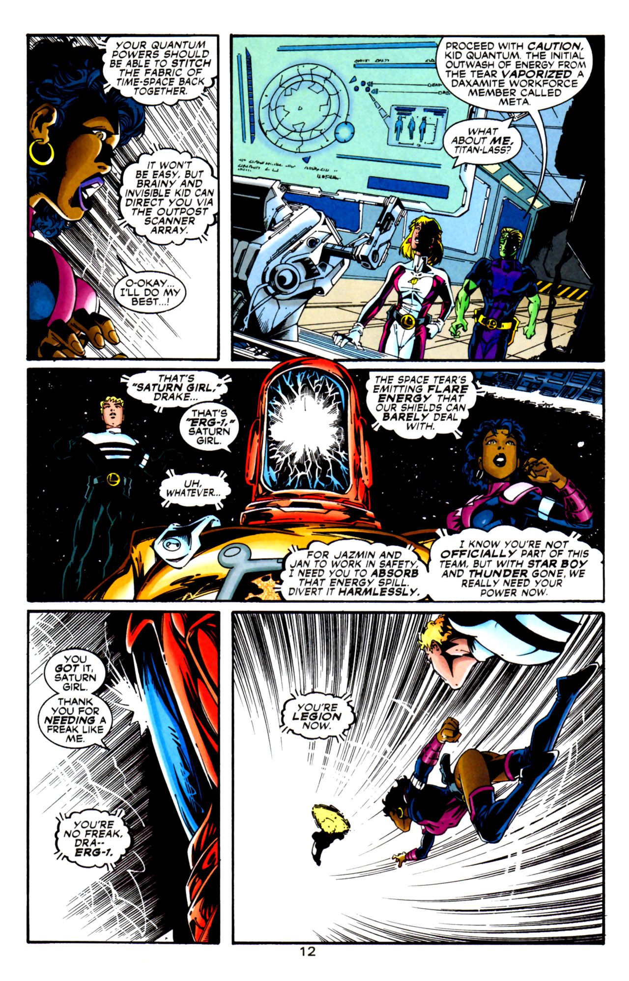 Legion of Super-Heroes (1989) 125 Page 12