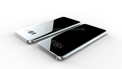 Samsung Galaxy S8 and Galaxy S8 Plus Render images and video leaked