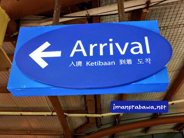 Sampai Di Singapura