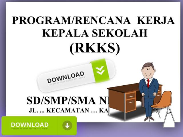 Contoh RKKS Rencana Kerja Kepala Sekolah Terbaru 2016/2017 SD,SMP,SMA