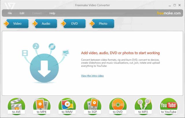 برنامج  Freemake Video Converter محول صيغ الفيديو
