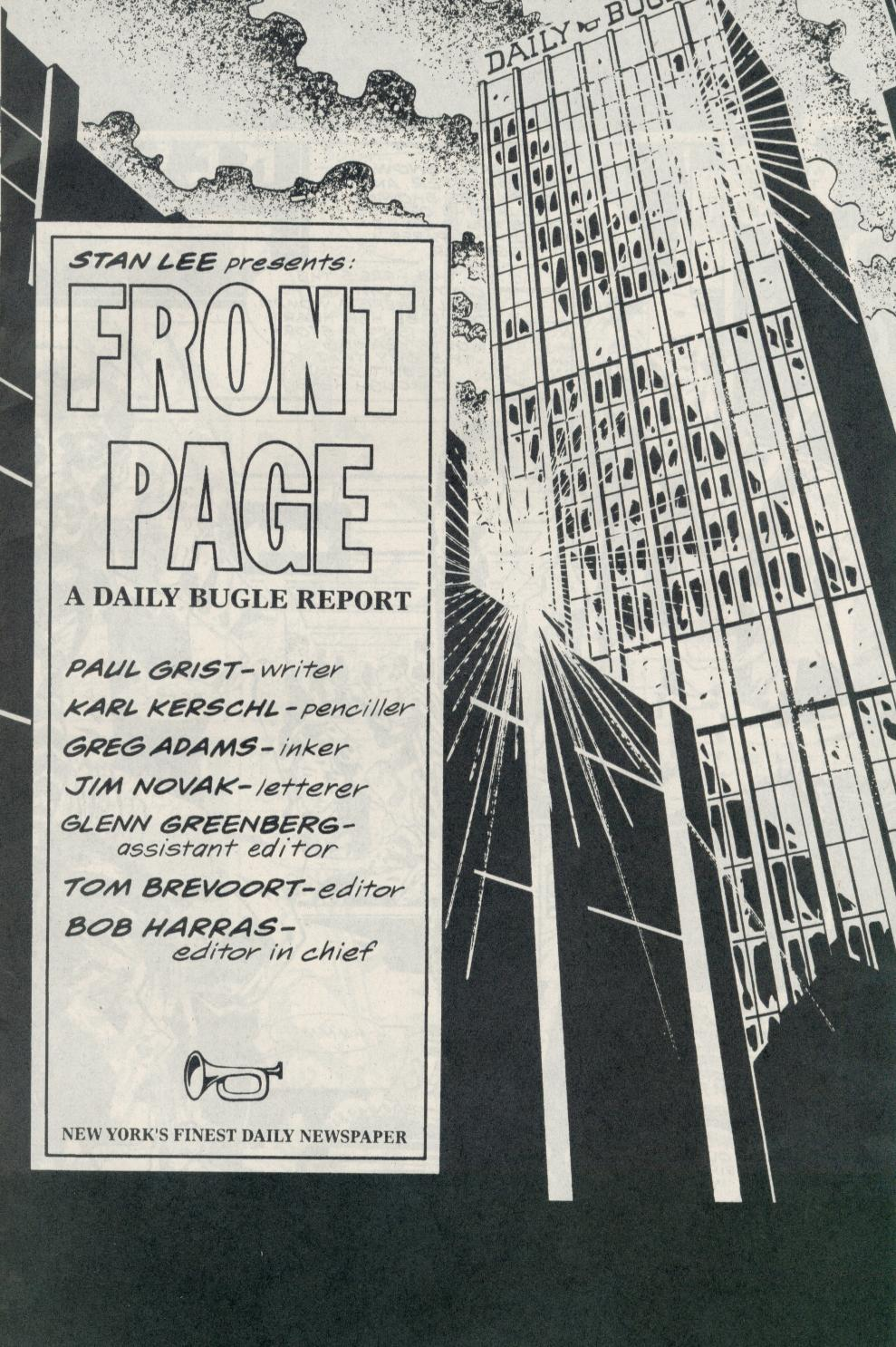 Read online Daily Bugle (1996) comic -  Issue #1 - 6